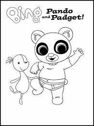 Kleurplaten Voor Kinderen Printen Bing Bunny 5 Disegni Da