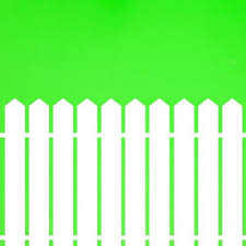 Picket Fence Pointed Top Wood Decal Vinyl Sticker Wall Decor Vinylwallaccents On Artfire