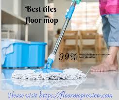 best cleaning for tile floors
