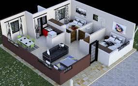 new two bedroom house plan 2 in kenya