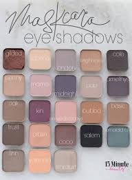 maskcara eyeshadow review and swatch