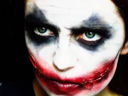 halloween joker makeup tutorial