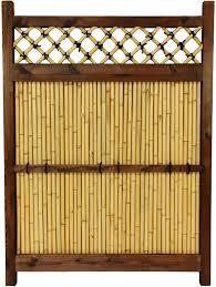 Amazon Com Oriental Furniture 4 Ft X 3 Ft Japanese Bamboo Zen Garden Fence Furniture Decor
