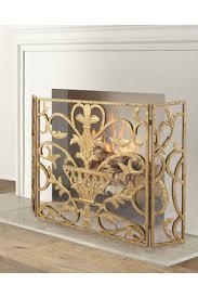 decorative fireplace screens tools at