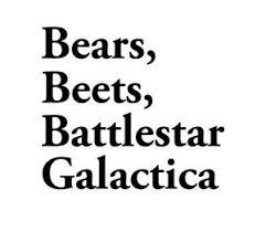 The Office Sticker Bears Beets Battlestar Galactica Vinyl Decal Car Dwight Ebay