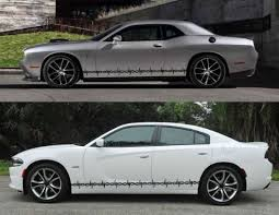 Product 2pcs Thorns Barber Wire Car Racing Stripe Decal Challenger Mini Cooper Any Cars