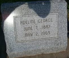Adeline Wilhelmina Henriette Schoen George (1887-1969) - Find A Grave  Memorial