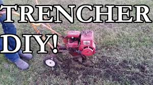 Cheap Dog Fence Trencher Diy Youtube
