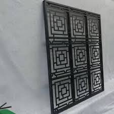 Customized Design Cad Drawing Powder Coated Black Laser Cutting Yard Modern Decorative Metal Aluminum Fence Screen Panel Buy Decorative Aluminum Metal Garden Fence Yard Outdoor Modern Fence Panels Cad Drawinglaser Cut Powder Coated