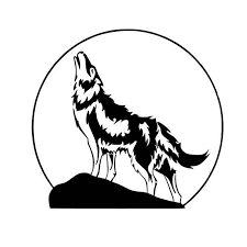 16 1 15cm The Moon And Howling Wolf Classic Car Sticker Vinyl Hunting Car Styling Decal Black Silver S1 2313 Silver Place Card Holder Silver Bananasilver Dinnerware Aliexpress
