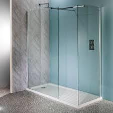 600mm wet room shower screen 10mm glass