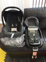 maxi cosi cabriofix car seat and