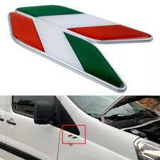 2x Alloy Italy Italian Flag Car Side Fender Emblem Badge Sticker Decal For Ford Archives Statelegals Staradvertiser Com