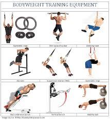 bodyweight equipment