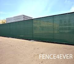 Amazon Com Fence4ever 8 X50 8ft Tall 3rd Gen Olive Green Fence Privacy Screen Windscreen Shade Cover Mesh Fabric Aluminum Grommets Home Court Or Construction Garden Outdoor