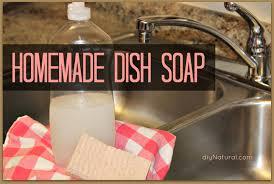 homemade dish soap this natural diy