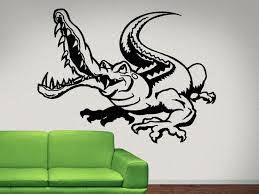 Gator Alligator Funny Wall Decal Gator Alligator Wall Decal Sticker Nuovocreations