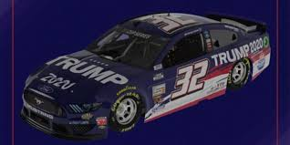 Corey Lajoie S Go Fas Racing Ford Mustang To Run Trump 2020 Sponsorship In 9 Races Fox News