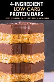 homemade low carb protein bars paleo