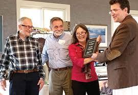 Ida Hall recognized at NAPS Fall Social   Rappahannock Record