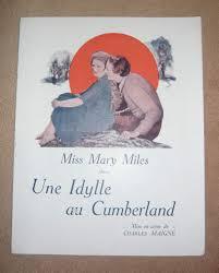 Amazon.fr - Dossier de presse de Une Idylle au Cumberland (1920) - 22x27, 5  cm, 4 p – Film muet de Charles Maigne avec Miss Mary Miles – Photos N&B -  résumé