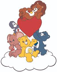 Care Bear Family Care Bear Cartoons Customized Wall Decal Custom Vinyl Wall Art Personalized Name Baby Girls Boys Kids Bedroom Wall Decal Room Decor Wall Stickers Decoration Size 30x15