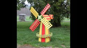 decorative garden windmills you