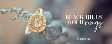 black hills gold rings necklaces