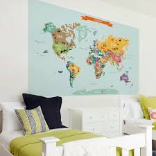 Zoomie Kids Countries Of The World Map Poster Wall Decal Reviews Wayfair