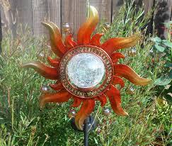 le glass solar lights cool