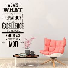 Removable Office Quote Wall Decal We Are What Vinyl Wall Sticker Creation Vinyl Art Office Workers Inspiration Wall Poster Wall Stickers Aliexpress