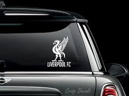 Lfc Liverpool Vinyl Decal Sticker Bumper Bonnet
