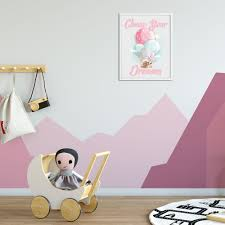 Kids Wall Art Chase Your Dreams Teepeejoy