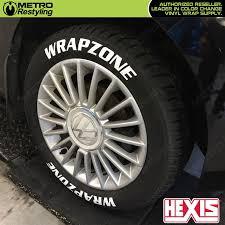 Hexis Sticknride Tire Sticker Vinyl Wrap Graphics