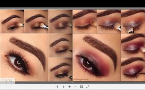 apply makeup step by step video