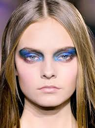 how to do prom makeup for blue eyes