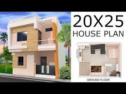 20x25 house design 500sqft 1bhk house