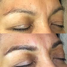 microblading semi permanent makeup