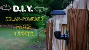 Solar Lights For Fence Posts 4x4 Lanterns Lowes Round Metal Uk Light Post Caps 6x6 Diy Powered Outdoor Gear 5x5 Expocafeperu Com