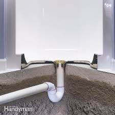 install a fiberglass base over concrete