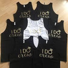 Iron On I Do Crew Decal Wedding Bachelorette Party Etsy Bachelorette Party Etsy Wedding Bachelorette Party Matching Shirts