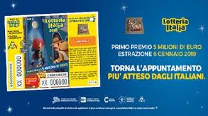 Lotteria Italia 2020: primo premio da 5 milioni a Torino. I ...