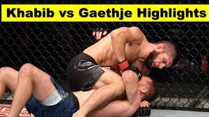 khabib vs gaethje highlights - ufc 254 ...