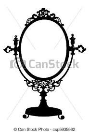clipart 75 039 mirror royalty free