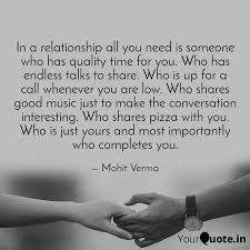 in a relationship all you quotes writings by mohit verma
