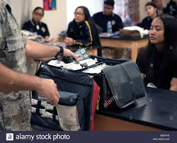 U.S. service members from all branches present for students at ...