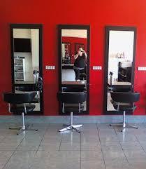 full length mirrors for salons black