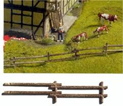 Ho Scale Farm Fence Scenic Express