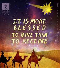 Image result for it is more blessed to give than receive poster