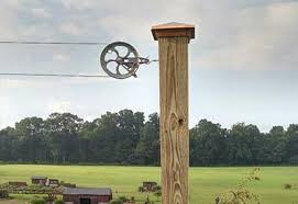 old fashioned pulley clothesline